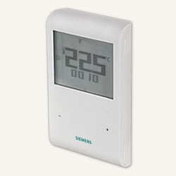 Программируемый комнатный термостат Siemens RDE 100.1