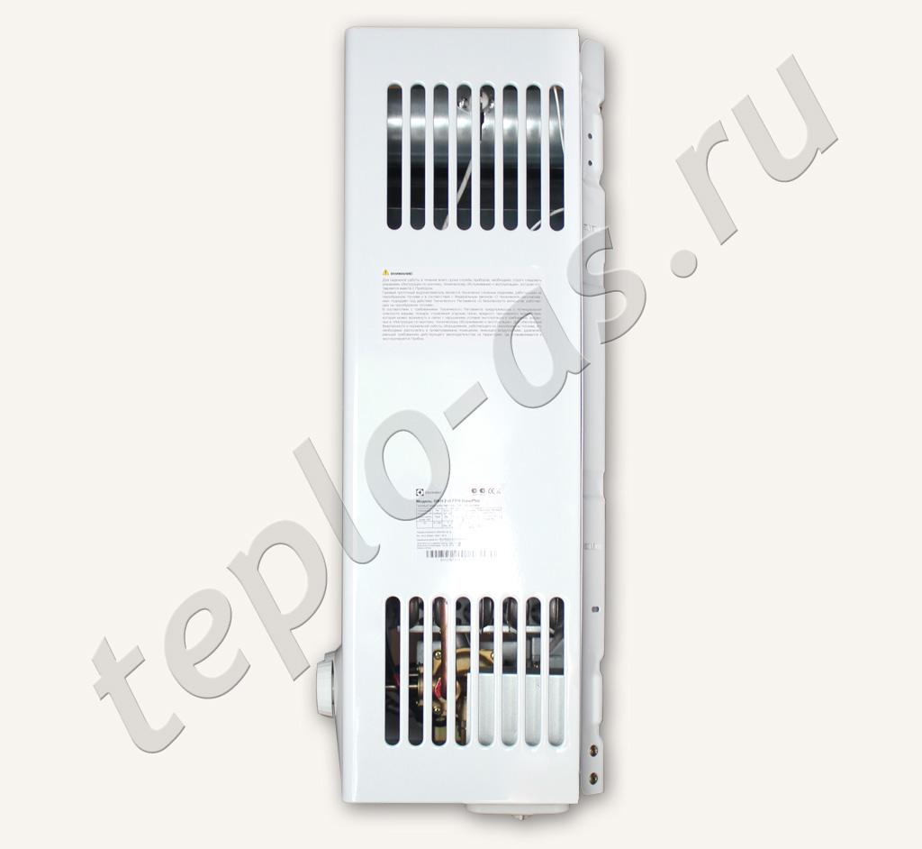 инструкция по приминению газовой колонки электролюкс