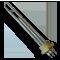 Блок ТЭН 3 кВт G1 1/2 BACKER BA CZ 6531/100 3x220V 3kW (0,7+1+1,3)